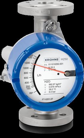 KROHNE H250 variable area flowmeter